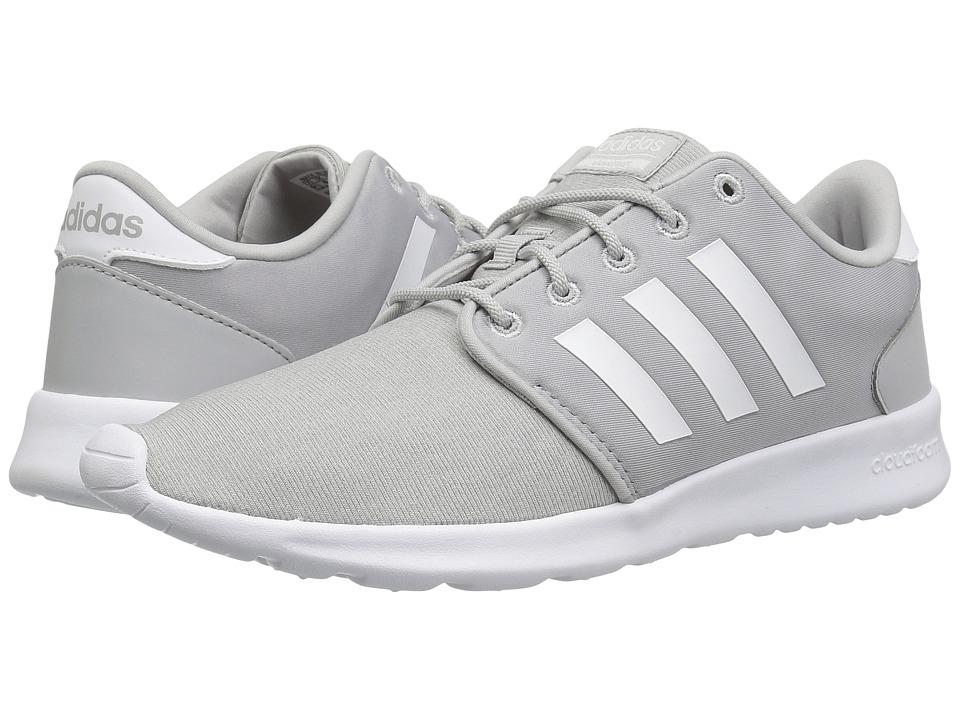 adidas Cloudfoam QT Racer (Grey 1/White/Grey 2) Women
