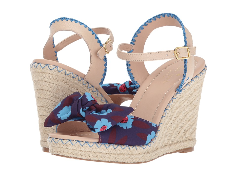 Kate Spade New York - Jane (Peacock Blue Majorelle Printed Fabric) Women's Shoes