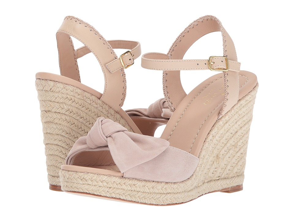 Kate Spade New York - Jane (Blush Kid Suede/Sand Nappa) Women's Shoes