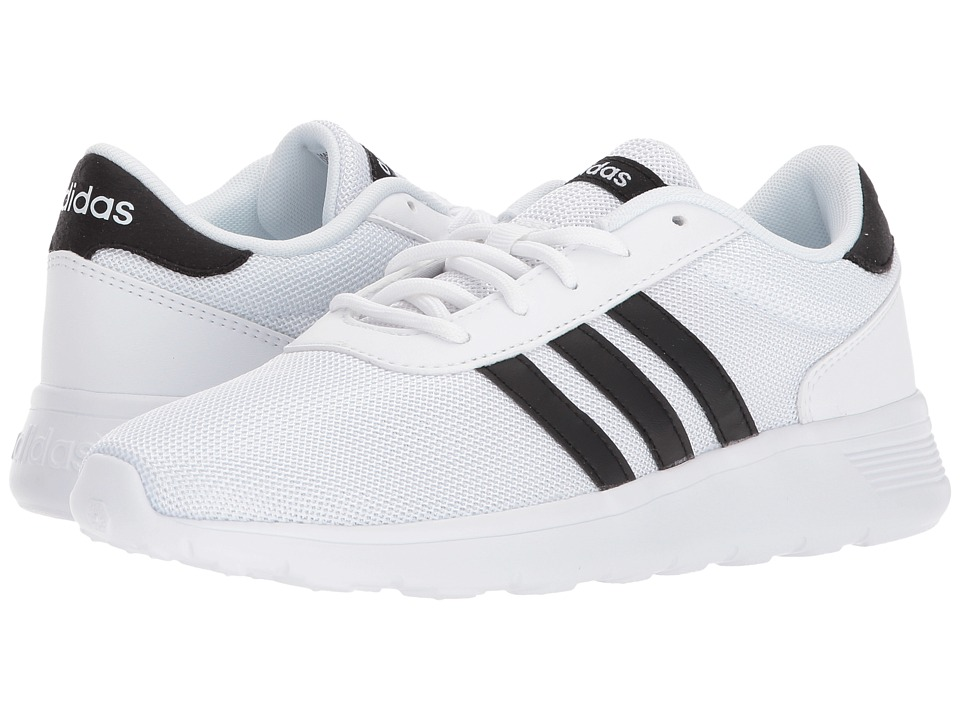 adidas Lite Racer (White/Black/White) Women