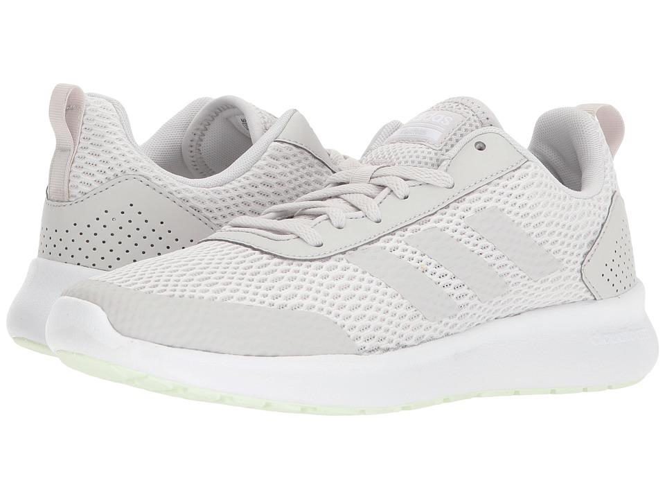 adidas Cloudfoam Element Race (White/Grey 1/Aero Green) Women