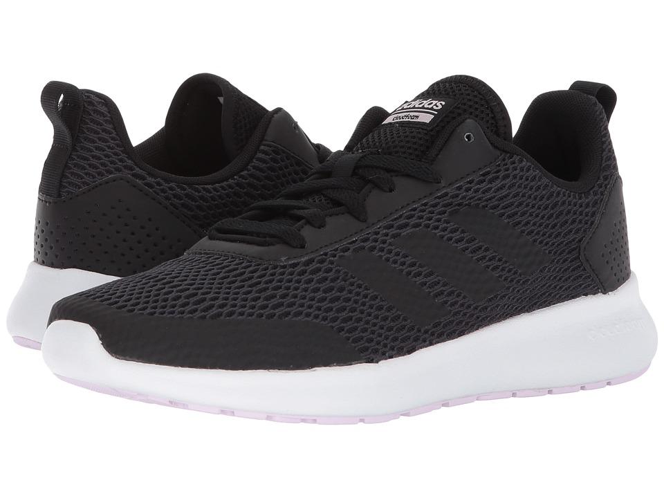 adidas Cloudfoam Element Race (Black/Carbon/Aero Pink) Women