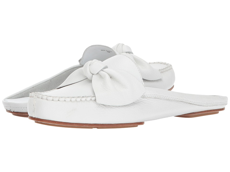 Kate Spade New York - Mallory (White Tumbled Leather) Women's Shoes