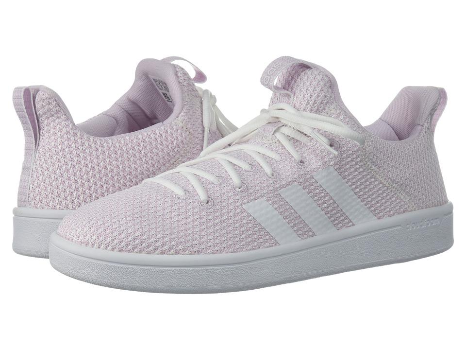 adidas Cloudfoam Advantage Adapt (White/White/Aero Pink) Women