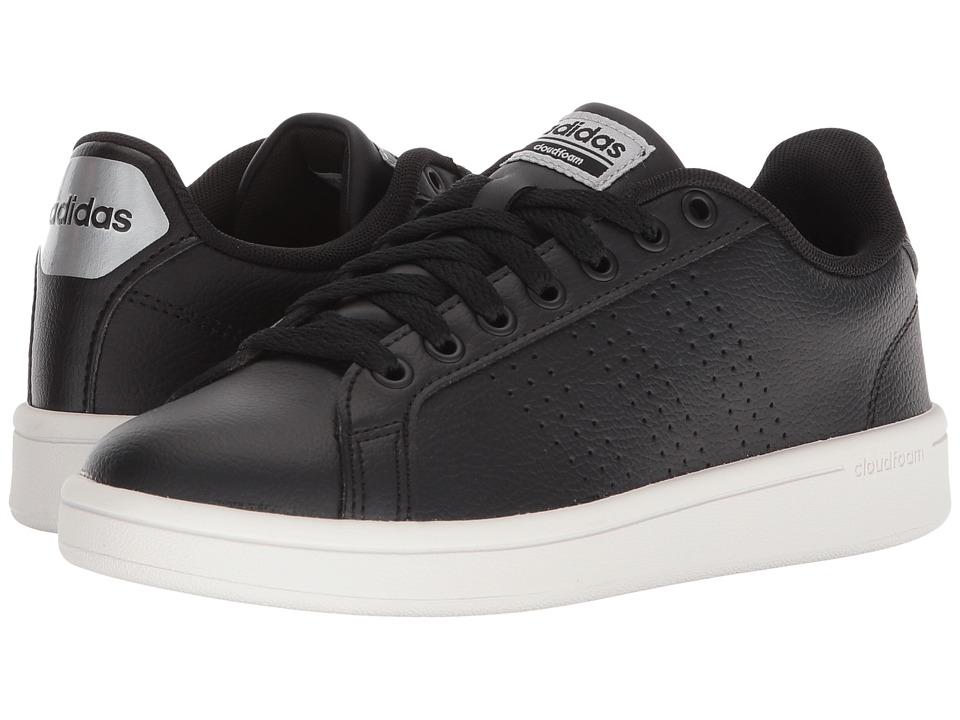 adidas Cloudfoam Advantage Clean (Black/Black/Silver) Women