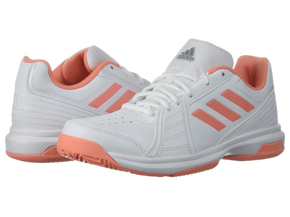 adidas Aspire (White/Chalk Coral/Silver) Women