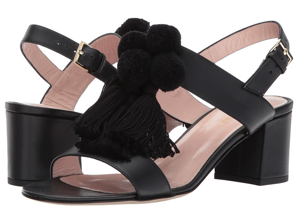 Kate Spade New York - Mcdougal Too (Black Vacchetta) Women's Shoes