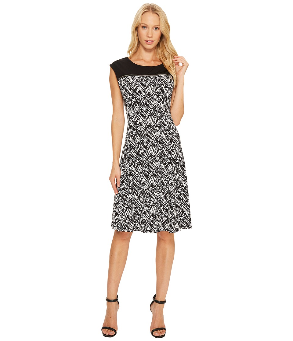 Calvin Klein Sleeveless Print Dress