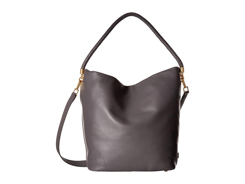 Cole Haan - Benson II Bucket Hobo (Storm Cloud) Hobo Handbags