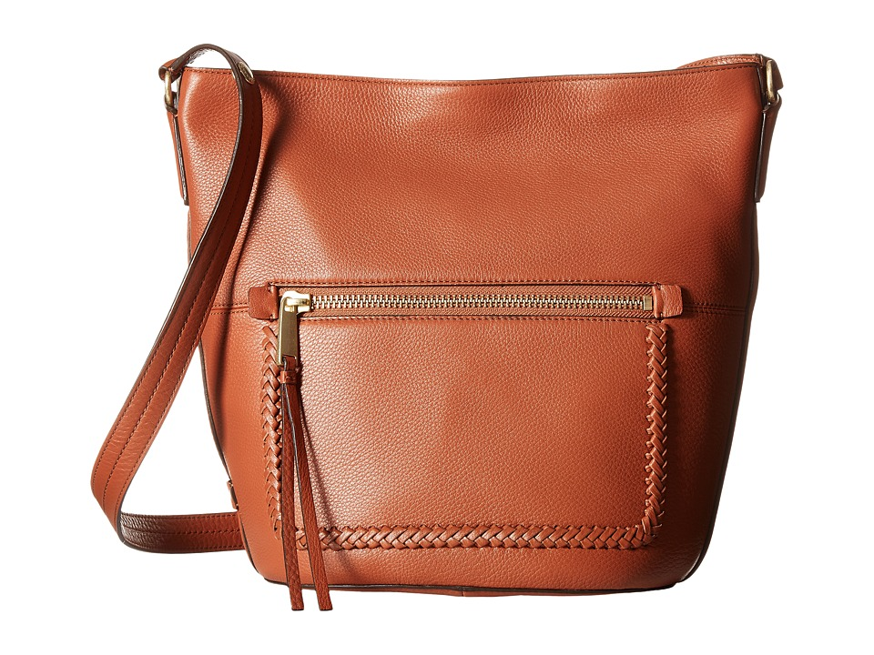 Cole Haan - Celia Bucket Hobo (Brandy Brown) Hobo Handbags