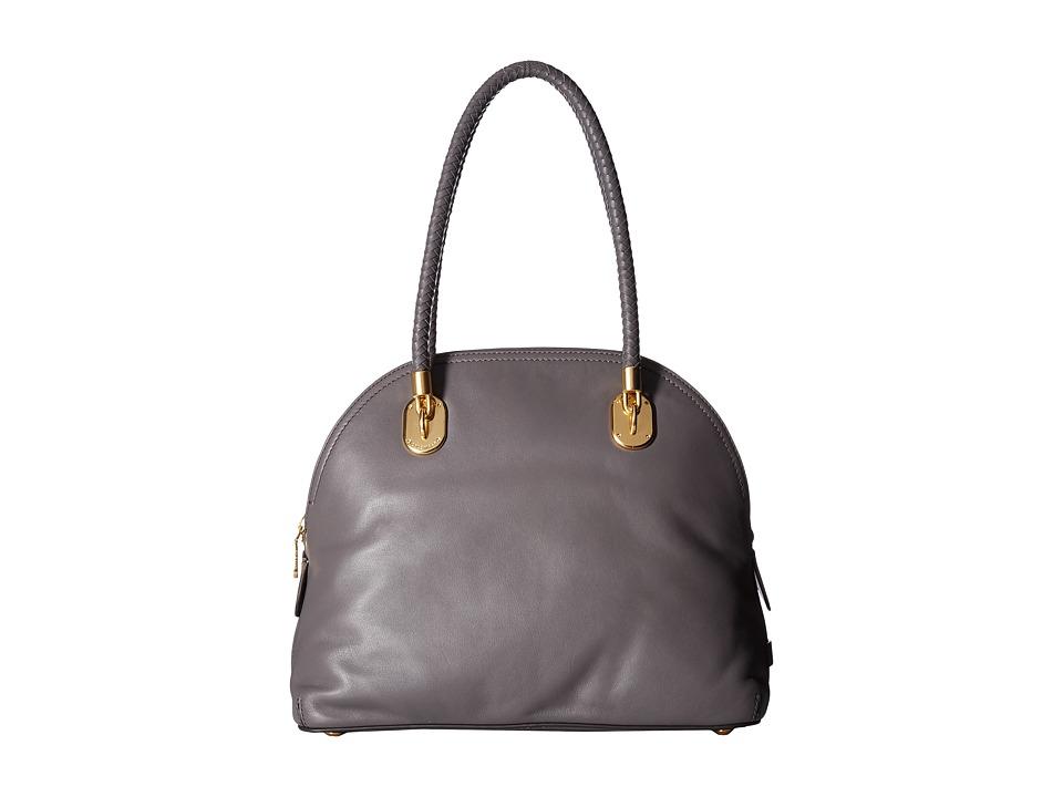 Cole Haan - Benson II Dome Satchel (Storm Cloud) Satchel Handbags