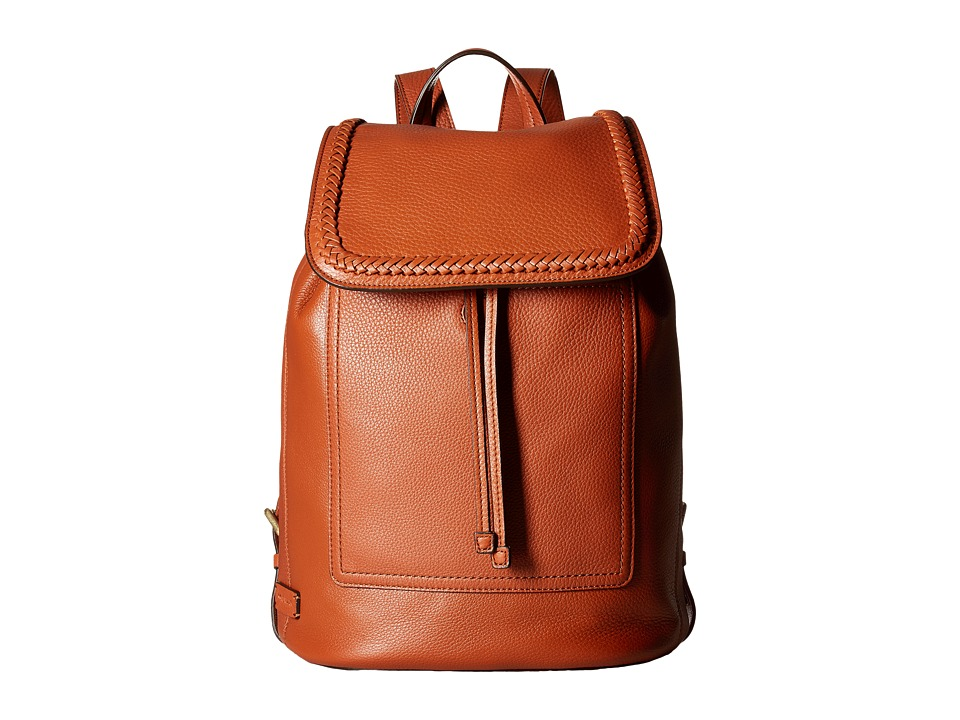 Cole Haan - Celia Backpack (Brandy Brown) Backpack Bags
