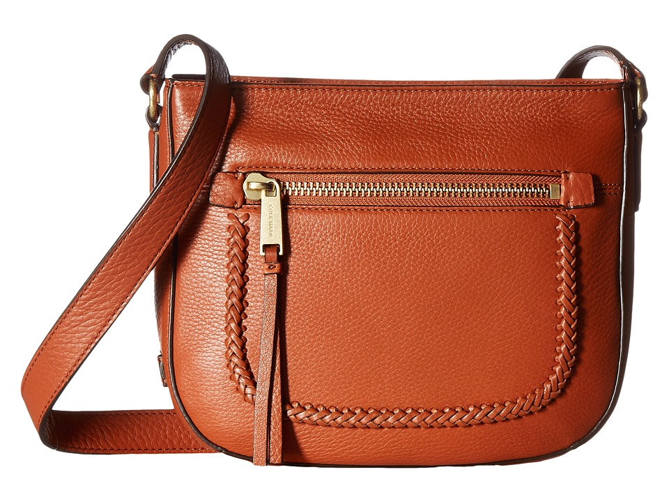 Cole Haan - Celia Crossbody (Brandy Brown) Cross Body Handbags