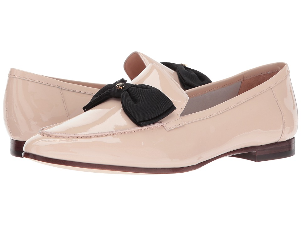 Kate Spade New York - Cathie (Pale Blush Patent/Black Grosgrain) Women's Shoes