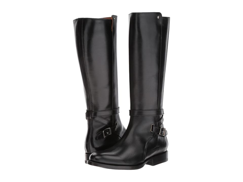 Frye - Jordan Strap Mid (Black) Women's Boots