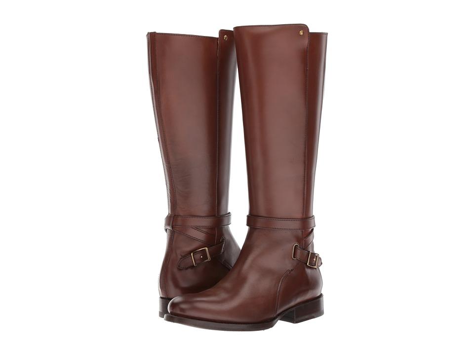 Frye - Jordan Strap Mid (Whiskey) Women's Boots