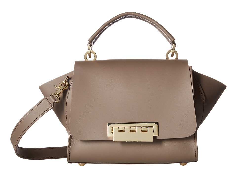ZAC Zac Posen - Top-Handle Crossbody with Floral Strap (Mocking Bird) Cross Body Handbags