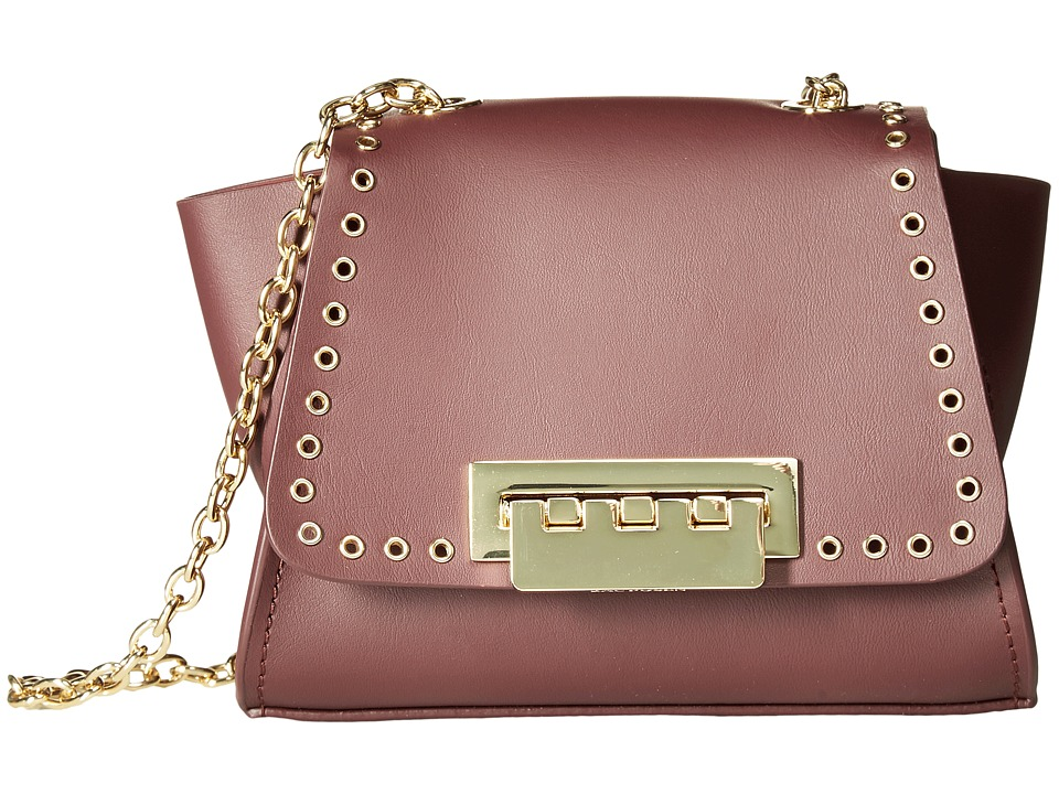 ZAC Zac Posen - Eartha Iconic Micro Grommet Mini Chain Crossbody (Cordial) Cross Body Handbags