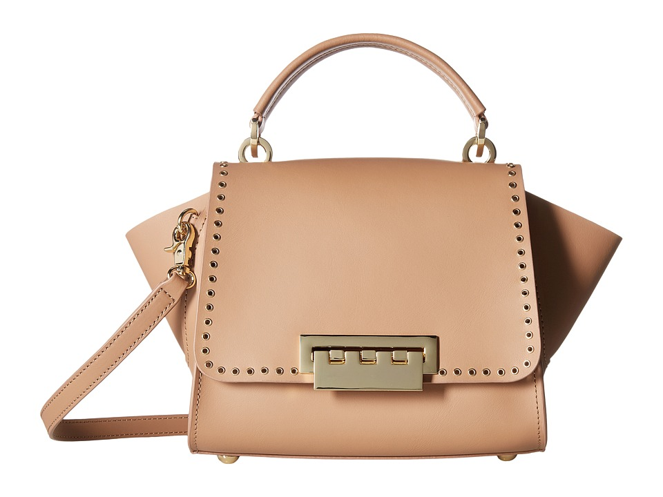 ZAC Zac Posen - Eartha Iconic Micro Grommet Top-Handle Crossbody (English Rose) Cross Body Handbags