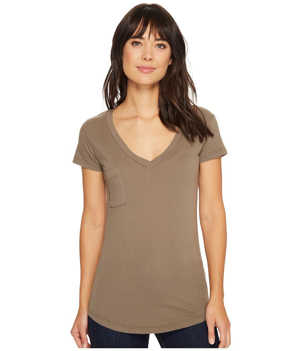 LAmade V-Pocket Tee - Tissue Jersey (Bungee Cord) Women's Short Sleeve Pullover