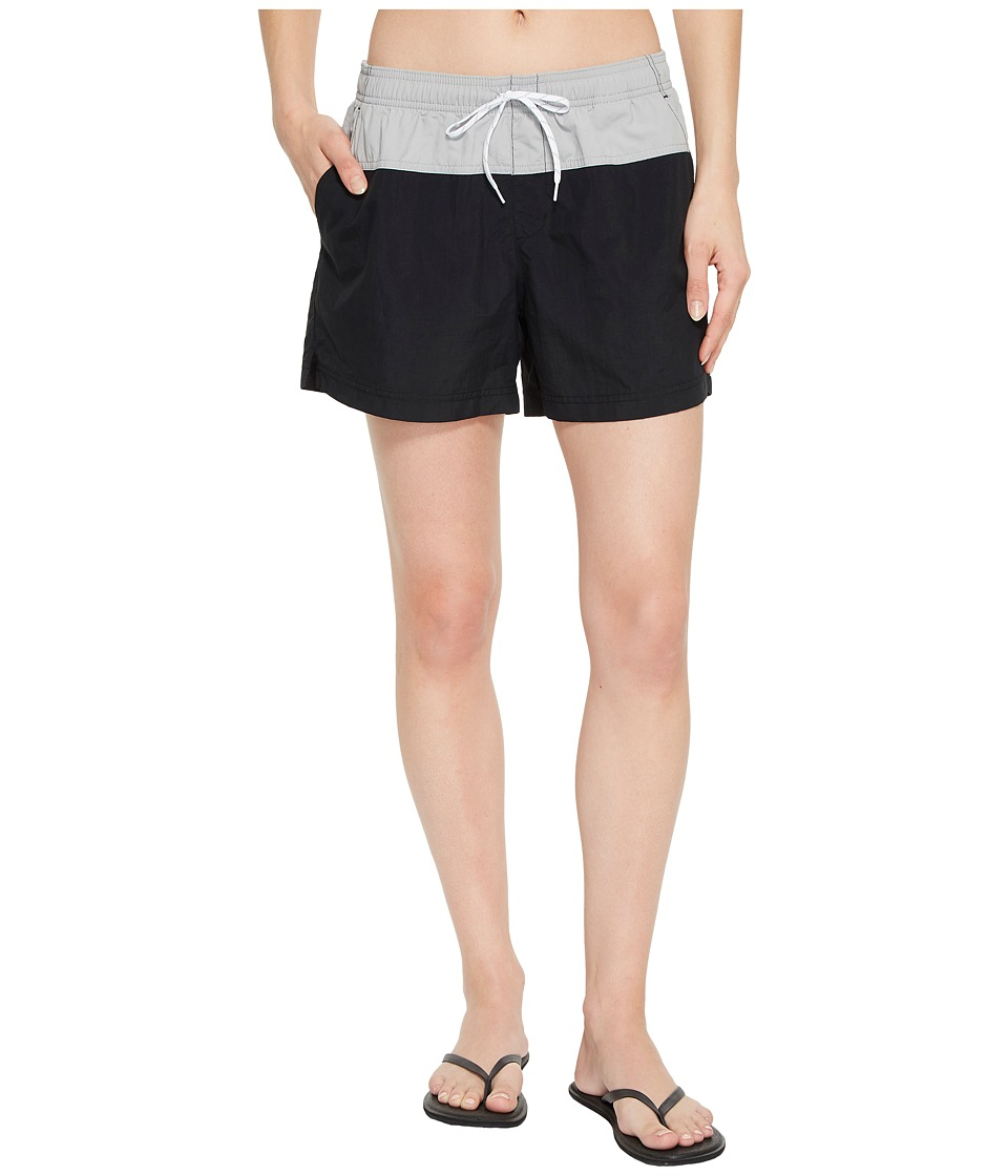 Columbia Sandy Rivertm Color Blocked Shorts (Black/Columbia Grey/White) Women