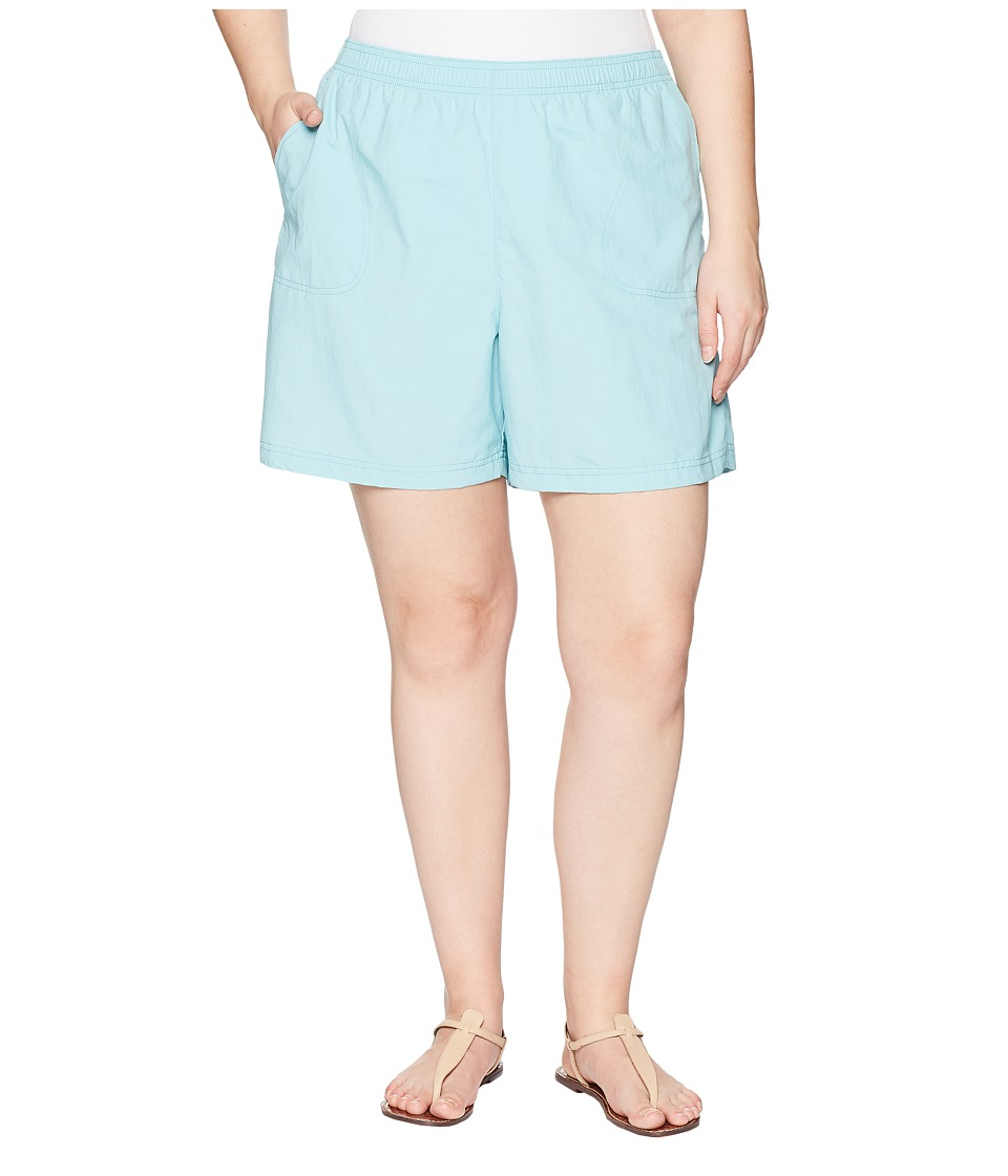 Columbia Plus Size Sandy Rivertm Short (Iceberg/Tuscan) Women