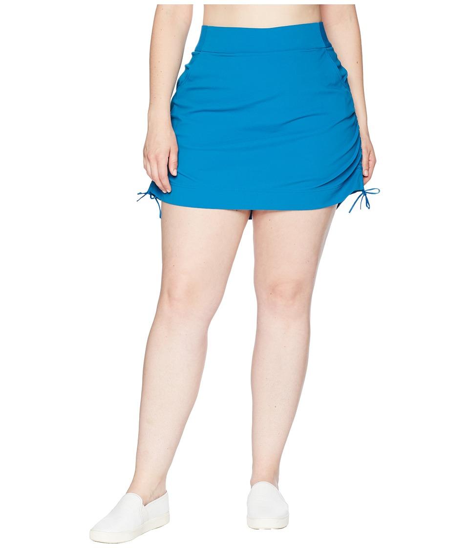 Columbia Plus Size Anytime Casualtm Skort (Jewel) Women