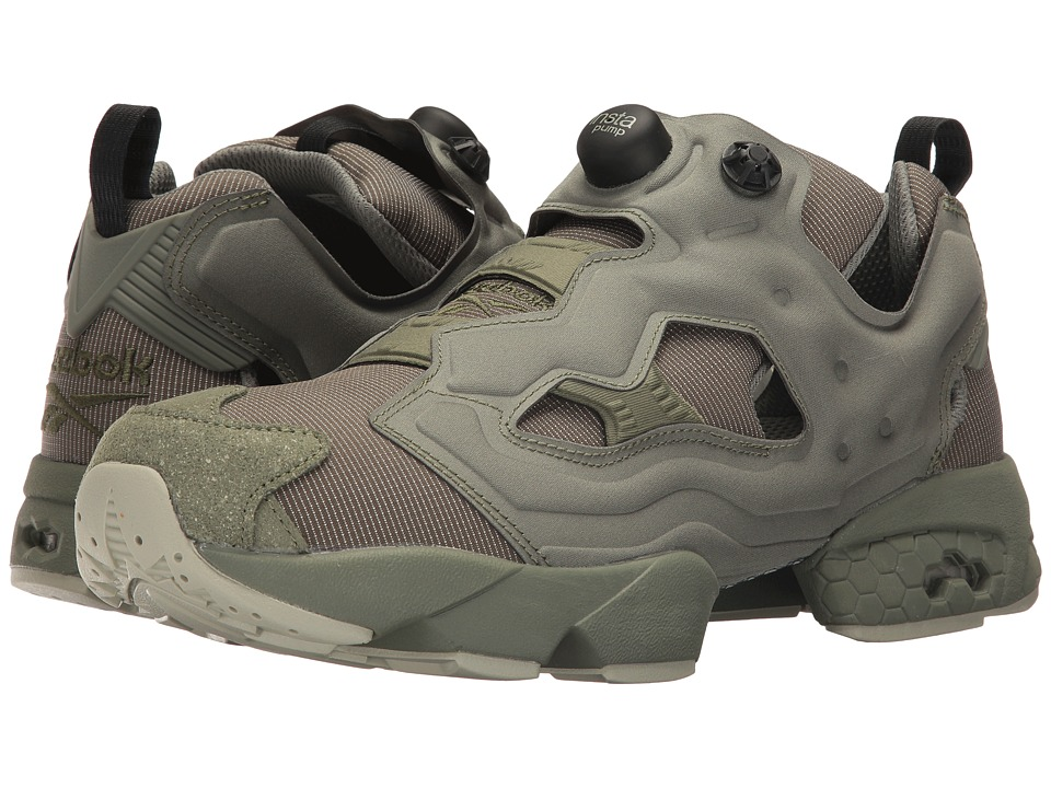 Reebok - Instapump Fury MTP (Hunter Green/Mystic Grey) Men's Shoes
