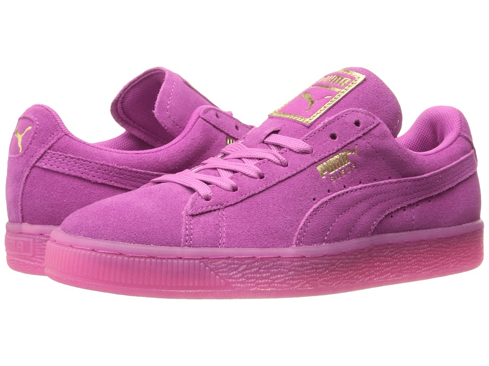 PUMA - Suede Classic Iced (Rose Violet/Gold) Women's Shoes