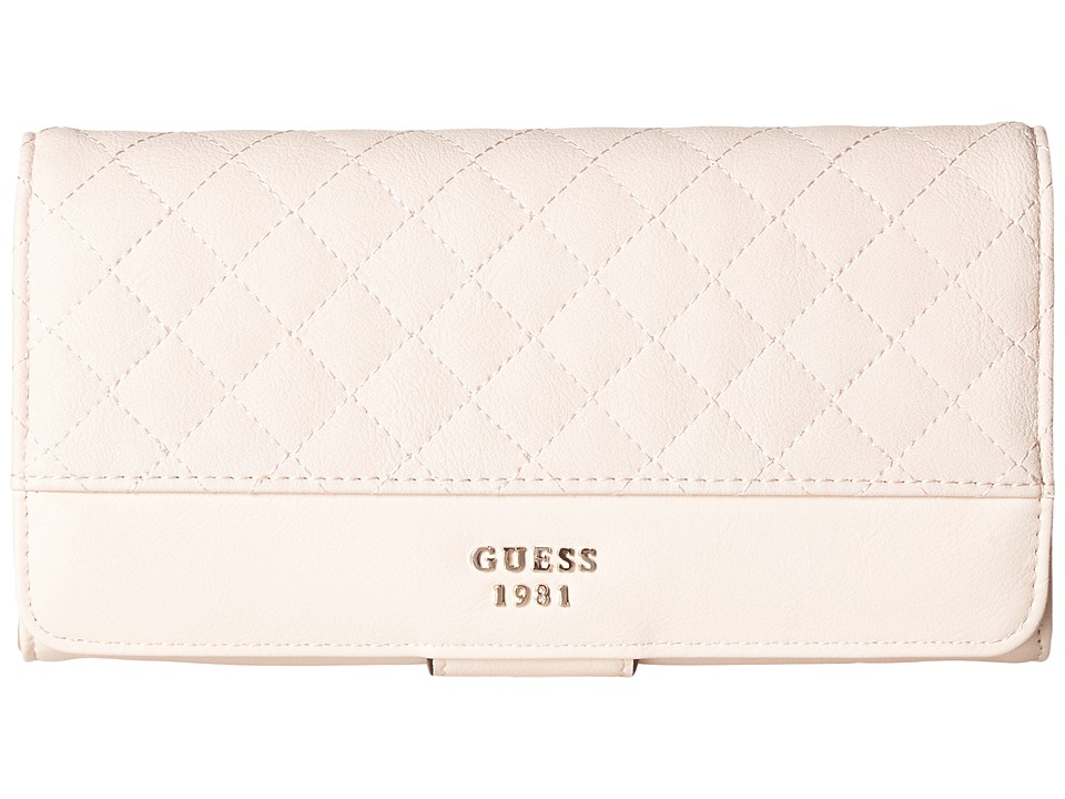 GUESS - Wilson File Clutch (Cameo) Clutch Handbags