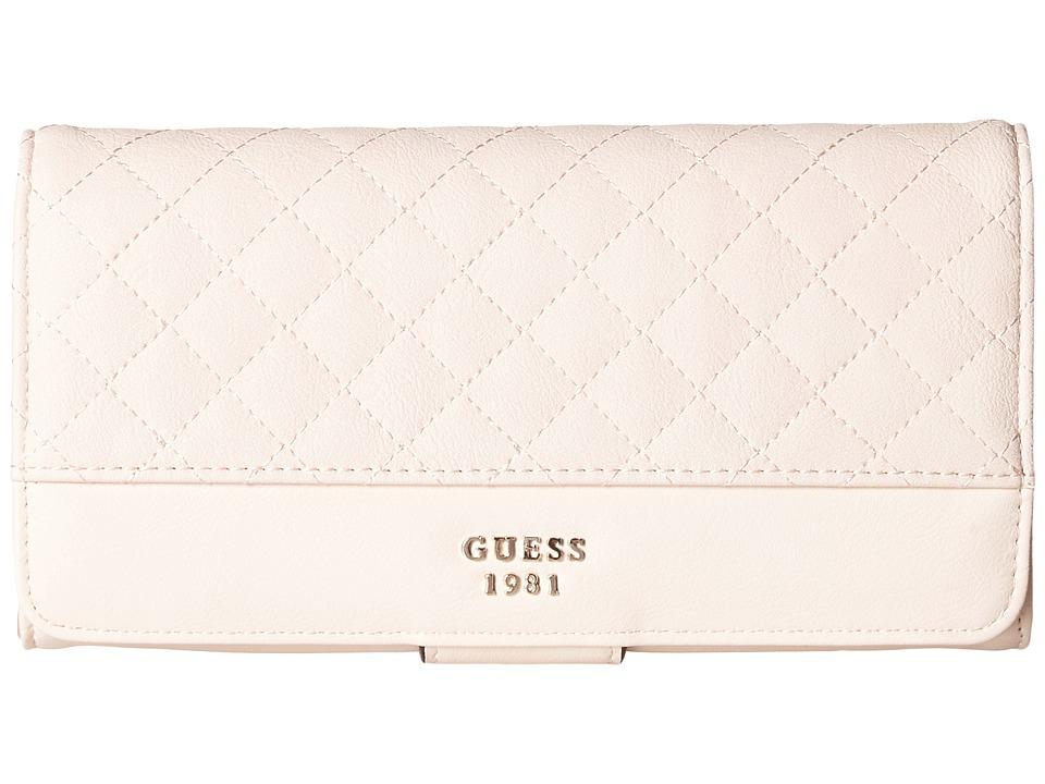 GUESS - Wilson File Clutch (Cameo) Clutch Handbags