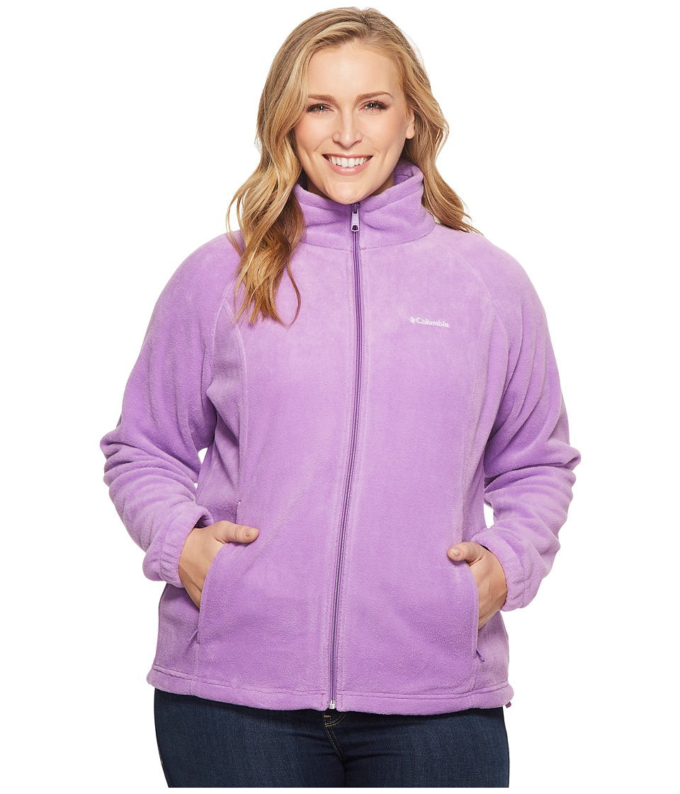 Columbia Plus Size Benton Springstm Full Zip (Crown Jewel) Women