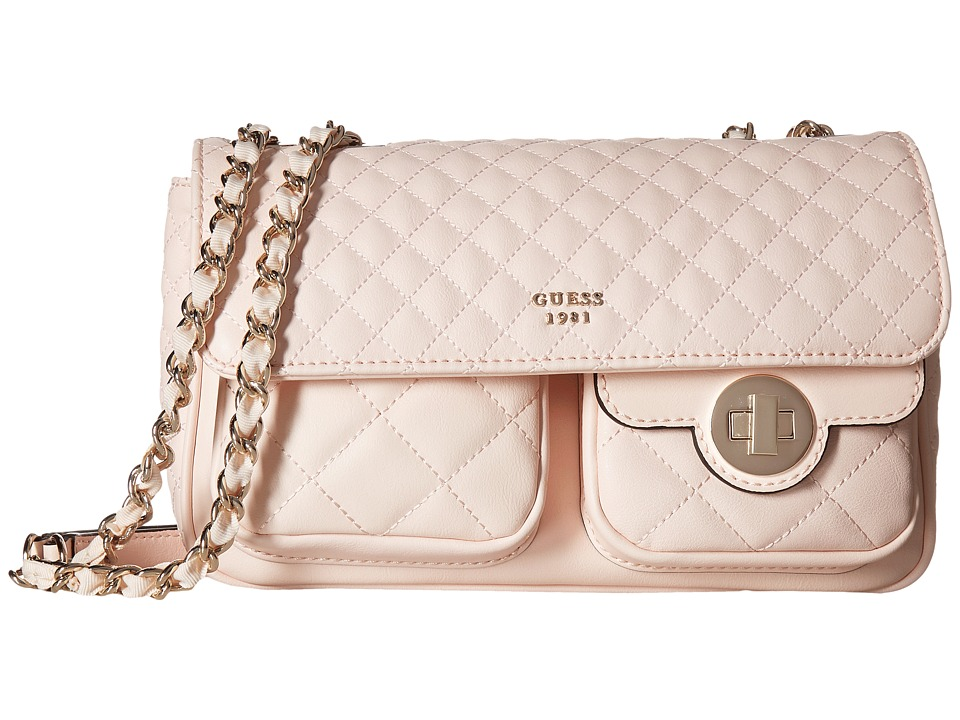 GUESS - Wilson Convertible Crossbody Flap (Cameo) Cross Body Handbags