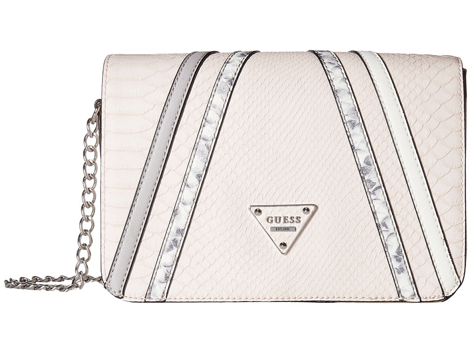 GUESS - Aventure Crossbody Flap (Blush Multi) Cross Body Handbags