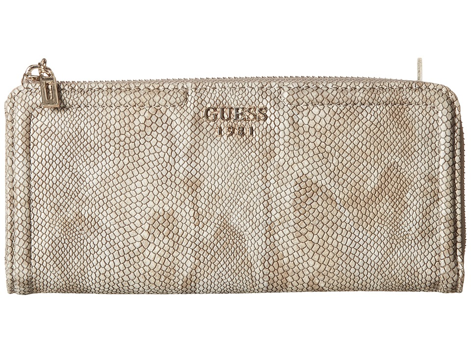GUESS - Andie Slim Zip Wallet (Python) Wallet Handbags