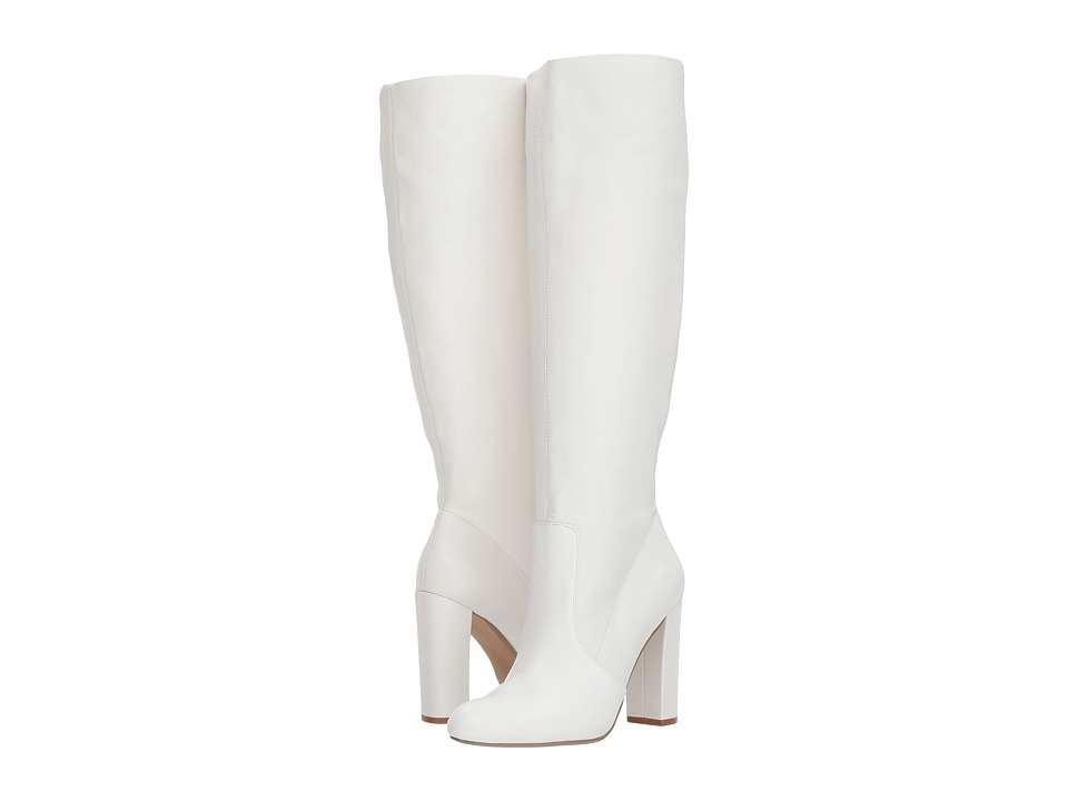 Steve Madden Eton (White Leather) Women