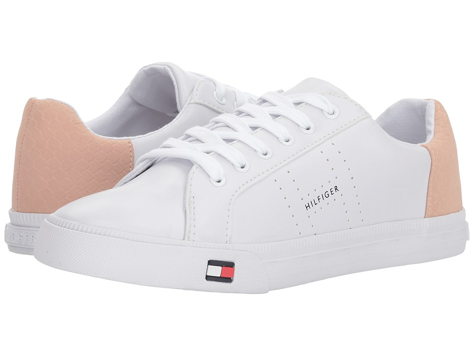 Tommy Hilfiger Lune (White/Capria) Women