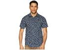 Woven Hineapple Roark Sleeve Short Shirt Hq16BAXx