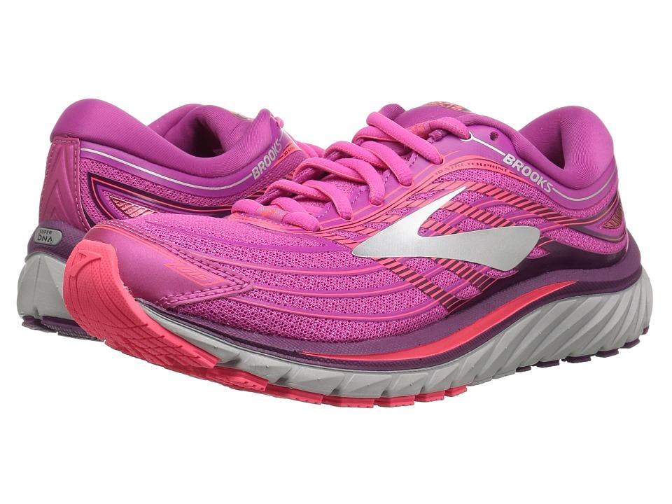 Brooks Glycerin(r) 15 (Pink/Purple/Silver) Women