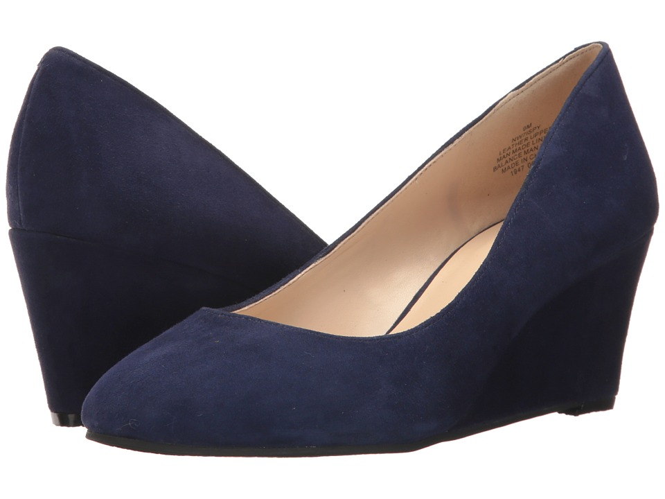 Nine West - ISpy (Blue Suede) Women's Shoes