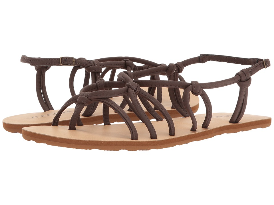 Volcom Whateversclever Sandals (Brown) Women