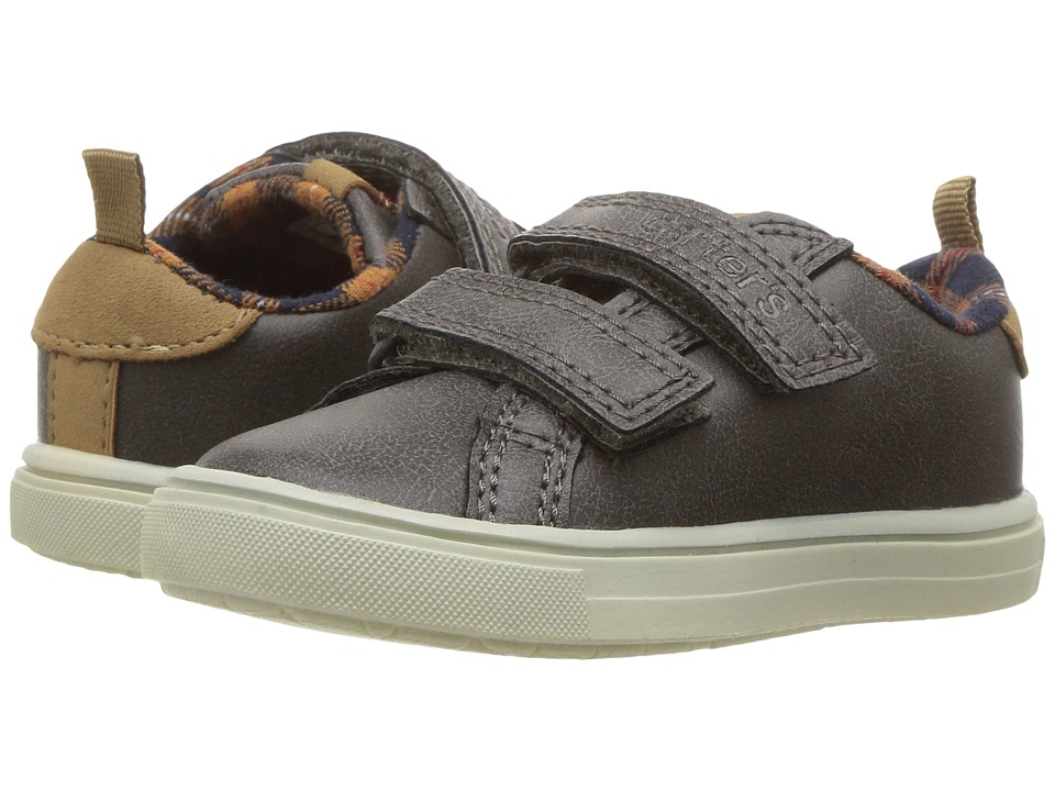 Carters - Gus 4 (Toddler/Little Kid) (Grey) Boy's Shoes