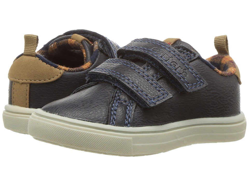Carters - Gus 4 (Toddler/Little Kid) (Navy) Boy's Shoes