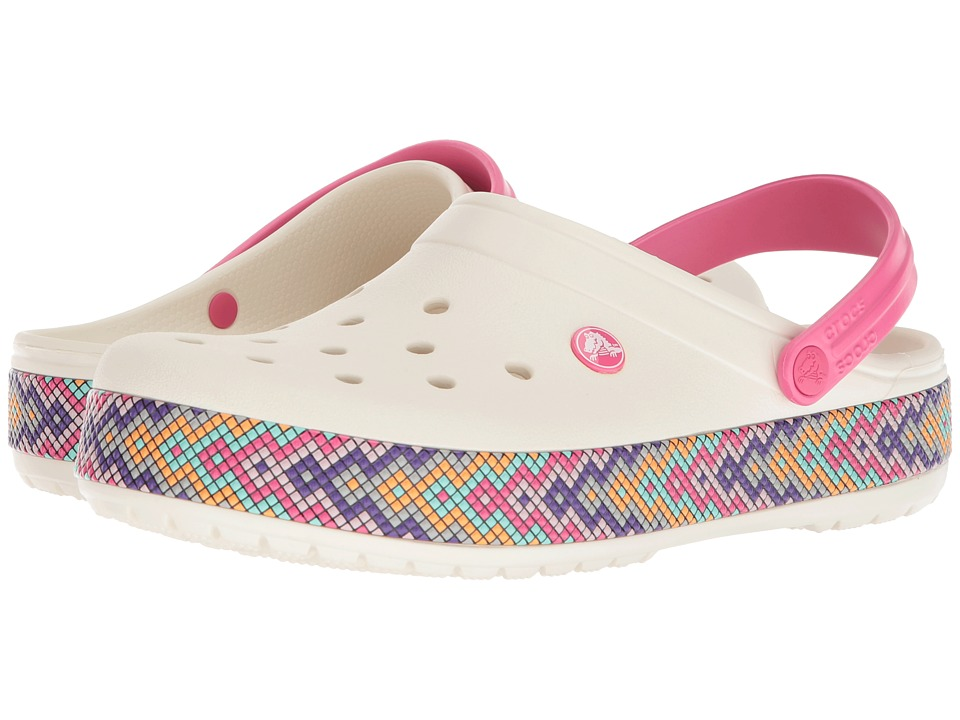 Crocs Crocband Gallery Clog (Oyster 1) Clog Shoes