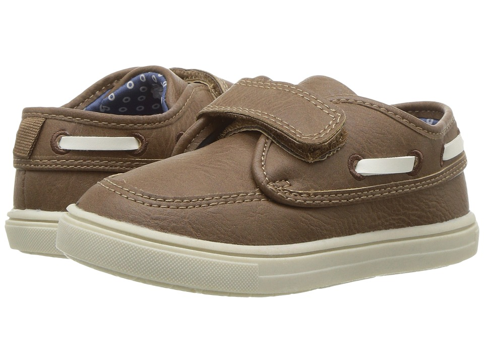 Carters - Super 2 (Toddler/Little Kid) (Brown) Boy's Shoes