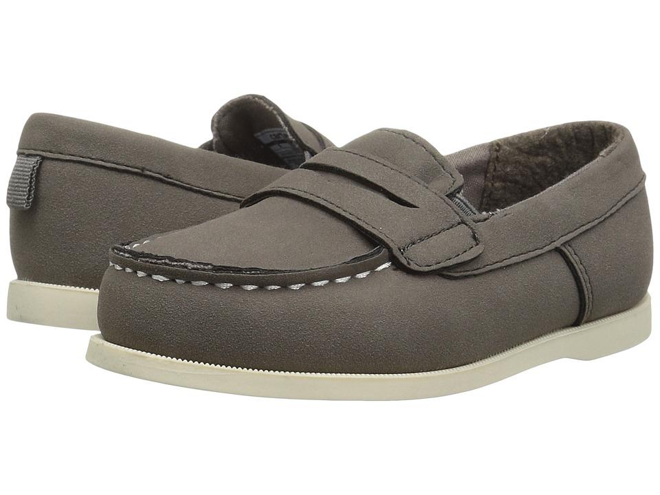 Carters - Simon 4 (Toddler/Little Kid) (Grey) Boy's Shoes
