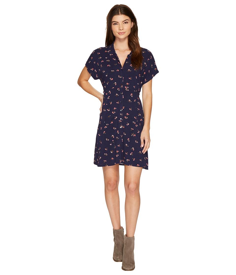 O'Neill - Kiki Floral Dress (Evening Blue) Women's Dress