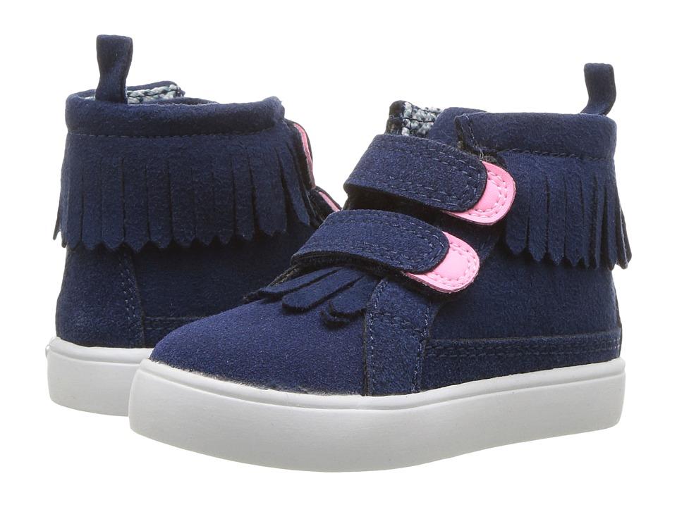 Carters - Bunbury (Toddler/Little Kid) (Navy) Girl's Shoes