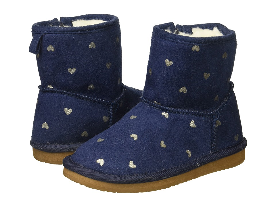 Carters - Amia 2 (Toddler/Little Kid) (Navy) Girl's Shoes