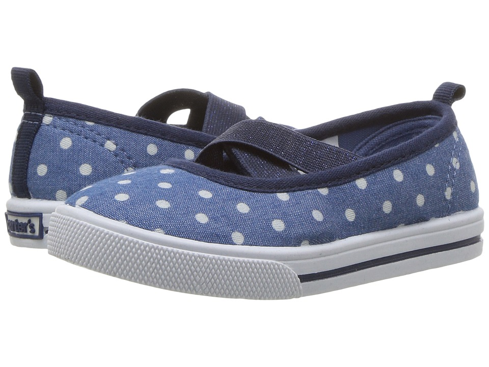Carters - Isla 2 (Toddler/Little Kid) (Blue) Girl's Shoes